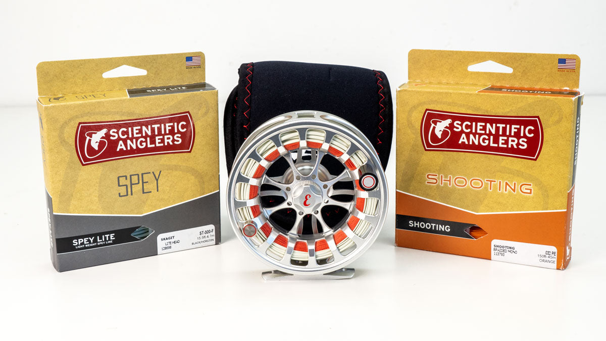 Backcountry Fly Reel Skagit Combo