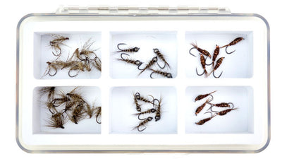 Fly box fly fishing flies assortment