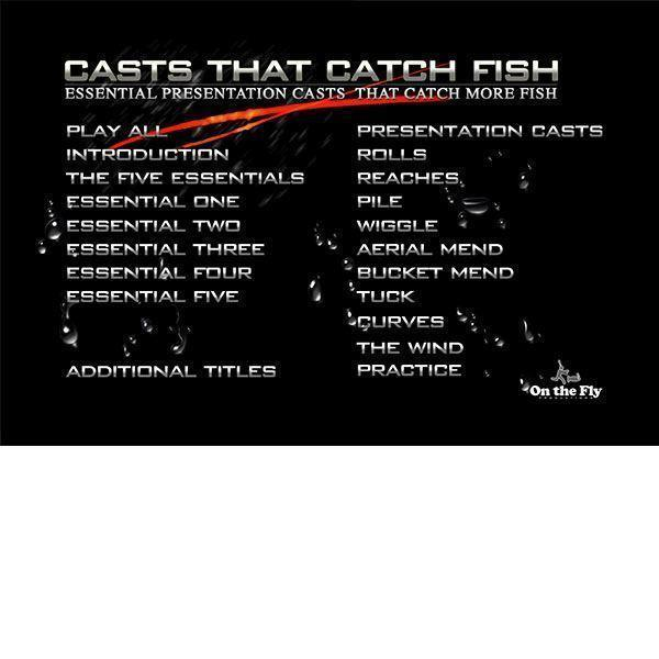 DVD's Casts That Catch Fish