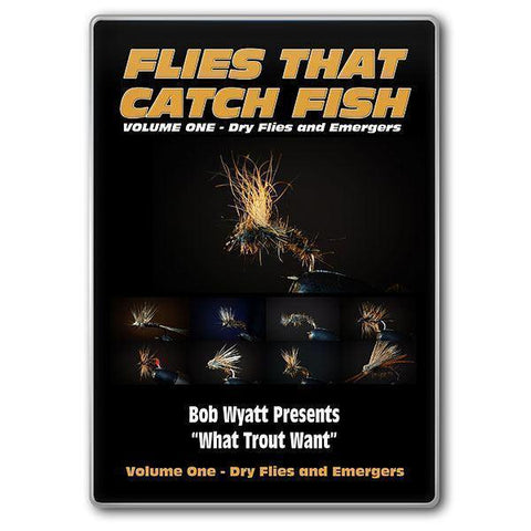 DVD's Flies That Catch Fish - Volume One