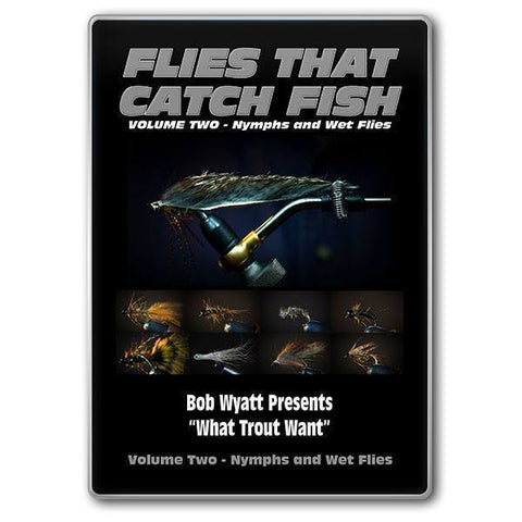 DVD's Flies That Catch Fish - Volume Two