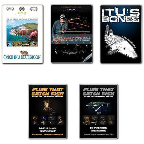 DVD's Fly Fishing DVD Collection