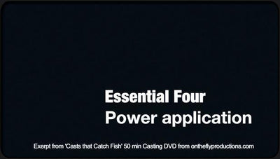 Video Download Fly Casting Essential Four