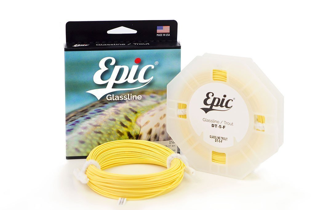 Epic Glassline Double Taper Fly Line - No Loops