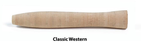 Rod Building Western / 476 Blank Premium Portuguese Cork Grips