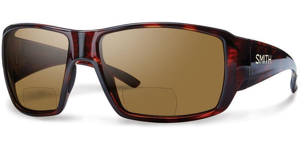 Sunglasses Frame: Matte Havana Lens: Carbonic Polar Brown +2 00 Guides Choice - Bifocals