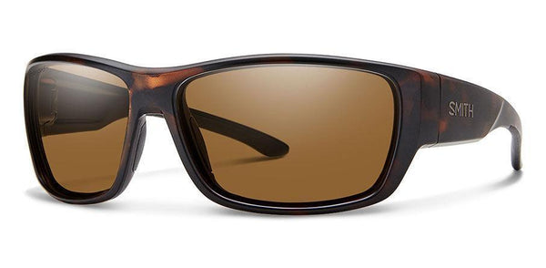 Sunglasses Frame: Matte Tortoise Lens: Carbonic Polarized Brown Forge