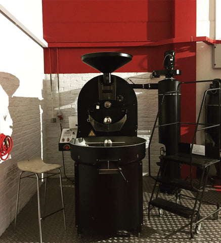 picture of a Probat coffee roaster
