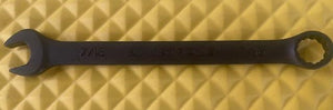 "Armstrong 30-114 7/16"" Black Combination Wrench 12pt USA"