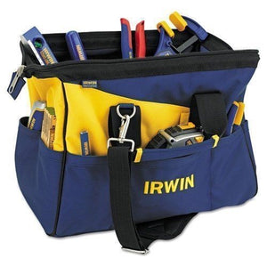 "IRWIN Tools 4402020 16"" Contractors Wide Mouth Tool Bag"