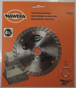 "Hawera HWD4542 4-1/2"" Turbo Rim Diamond Saw Blade"