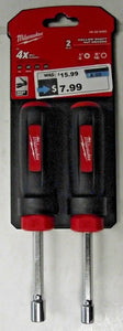 Milwaukee 48-22-2402 2 Piece Hollow Nut Driver Set