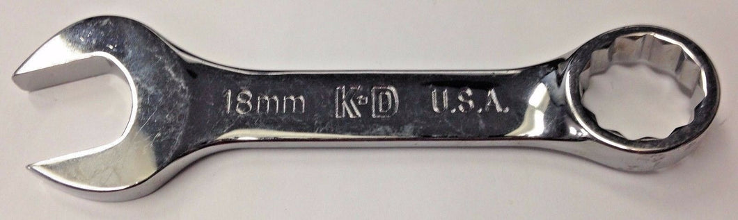 KD Tools 66618 18mm 12 Point Combination Wrench USA