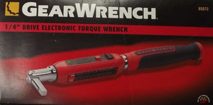 "GearWrench 85072 1/4"" Drive Electronic Torque Wrench"