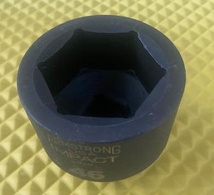 "ARMSTRONG 48-046 46MM Impact Socket 3/4"" Drive 6 Point USA"