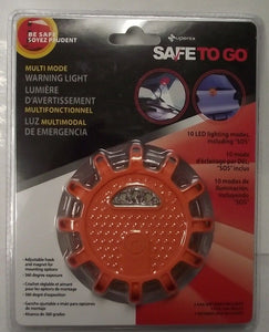 Superex 16-724 Automotive Multi-Mode Warning Emergency Light Magnet & Hook