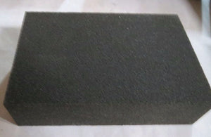 "4"" x 2-1/2"" x 1"" 180 Grit Wet & Dry Sanding Sponges 2nd's 10pcs."