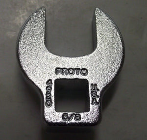 "Proto 4920 3/8"" Drive 5/8"" Crowfoot Wrench USA"