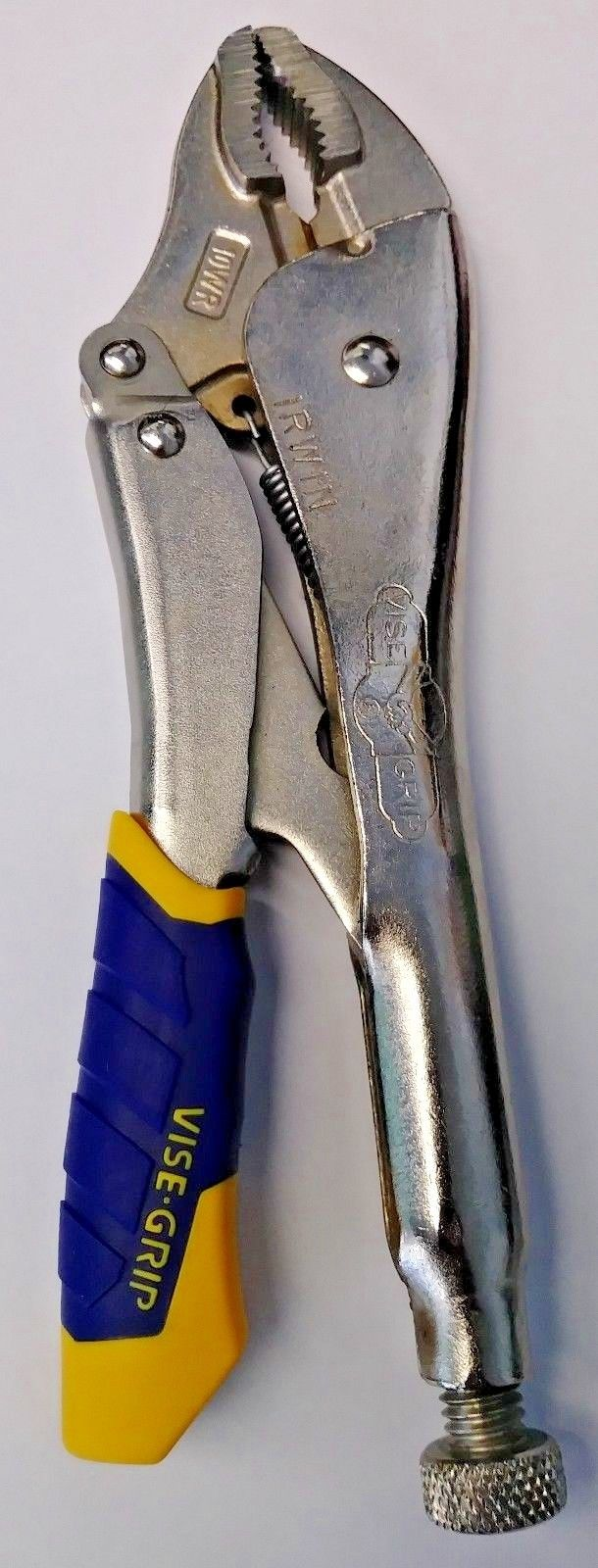 Irwin Vise-Grip 10WR Curved Jaw Locking Plier With Wire Cutter & One Grip (Bulk)