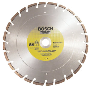 "Bosch DB1261 12"" Premium Plus Dry / Wet Cutting Segmented Diamond Saw Blade"