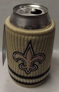 NFL 0718-8254 New Orleans Saints Woolie Beverage Insulator