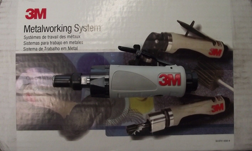 3M Die Grinder 28629 Pneumatic Power 0.3 HP Motor 1/4