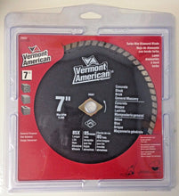 "Vermont American 29207 7"" Turbo Rim Diamond Saw Blade"
