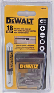 Dewalt DW2058 18 Piece Magnetic Screw Bit Drive Guide Set