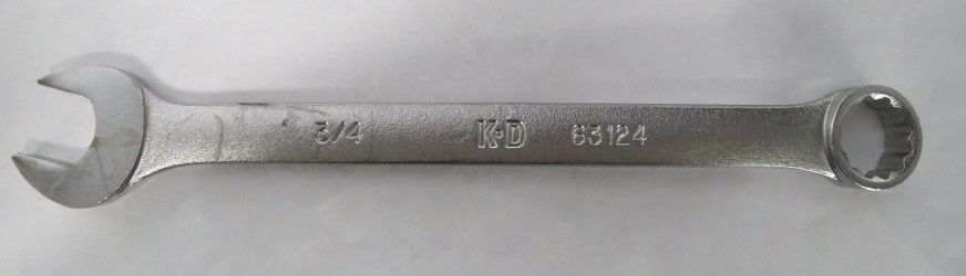 KD Tools 63124 - Wrench Combination 3/4
