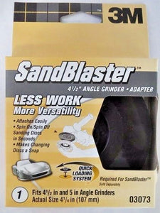 3M 03073 SandBlaster Automotive Angle Grinder Adapter