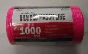 Koch Industries 5341844 Twisted Mason Line #18 By 1000 Feet Pink