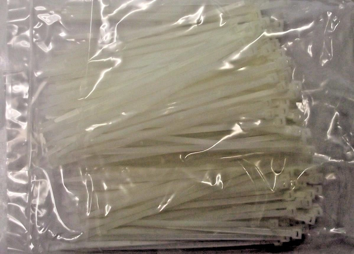 """3m 792 Cable Ties 7-1//2/"""" 2 Pks Of 100 Total 200pcs."""