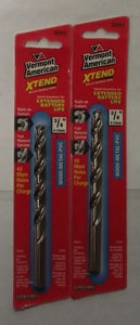 "Vermont American 12751 3/8"" x 5"" XTEND Fractional Drill Bit 2pc"