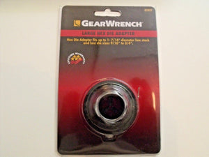 GearWrench 82802 Large Hex Die Adapter