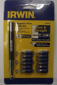 Irwin 1885552 13-Piece Magnetic Drive Guide Set