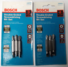 "Bosch CC60464 Double-End Bits 2"" Phillips Straight USA 2-3 Packs"
