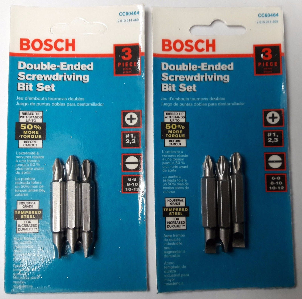 Bosch CC60464 Double-End Bits 2