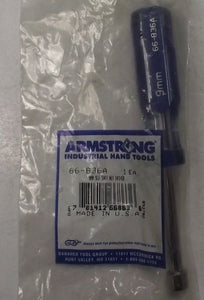 ARMSTRONG 66-836A 9mm Metric Nut Driver USA