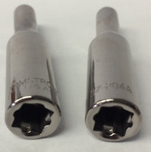 "Armstrong 37-204 1/4"" Drive 6 Point Deep Socket 4mm 2PCS"