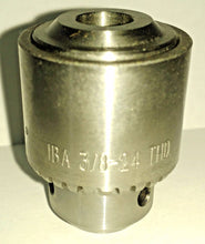"Jacobs 04919 1BA 3/8-24 Thread Mounted Medium Duty Drill Chuck 0-1/4"" Capacity"