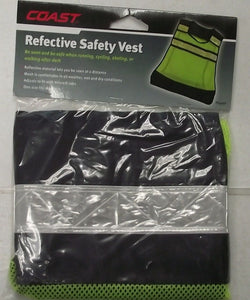 Coast TT197CP Reflective Safety Vest One Size Fits Most
