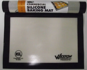 "Weston Commercial 54-2003 Silicone Baking Mat 2 Pcs. 11-3/4"" X 8-1/4"""