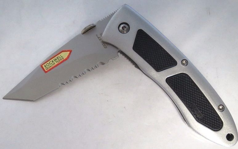 Coast C04 4.75 Inch Locking Folding Tanto Liner Knife