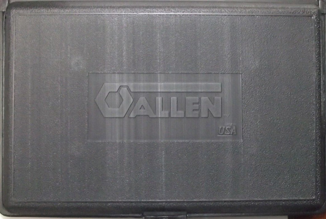 Allen 9 pc Tool Nutdriver Storage Case USA CASE ONLY NO TOOLS 8005945
