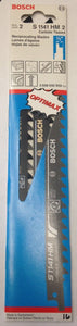 "Bosch S1141HM2 9"" x 3 TPI Carbide Tipped Reciprocating Saw Blades 2 Pack"