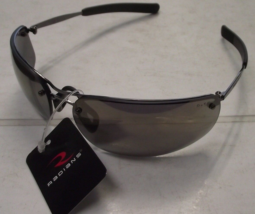 Radians T82-Y0RD Safety Glasses - Metal Frame - Gold Mirror Lens