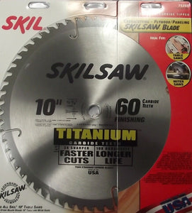 Skil 10 x 60T Titanium Carbide Saw Blade 75260 USA NEW