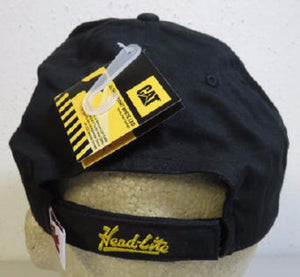 Caterpillar Cat 019605 Baseball Style Cap With LED Light Black