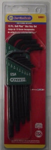 Napa 59901 13pc Ball Plus Hex Key Set SAE USA