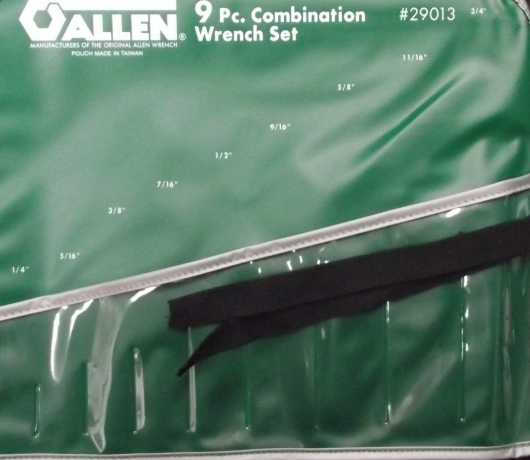 Allen 29013 9pc. Tool Roll Holder Only ( No Tools) Taiwan